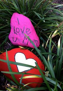Love rocks for mom #myperfectmothersday