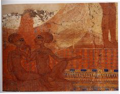 Egyptian art showing Nephilim traits in their people by NephilimSkulls, via Flickr