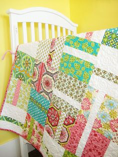 Always looking for a new way to make Layer Cake Quilt