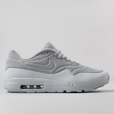 Nike Air Max 1 Ultra Moire Shoes - Wolf Grey