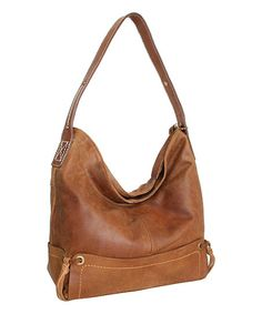 Nino Bossi Handbags Saddle Pow Wow Leather Hobo | zulily