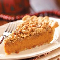 Eggnog Sweet Potato Pie Recipe from Taste of Home -- shared by Sarah Spaugh of Winston-Salem, North Carolina