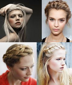Über Chic for Cheap: Hair Inspiration: Braids 2