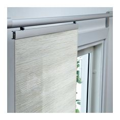 is this white, or off-white? FÖNSTERVIVA Panel curtain IKEA A panel curtain is ideal to use in a layered window solution, to divide rooms or to cover open storage solutions.