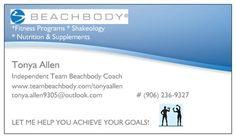 Sample beachbody coach business cards best business cards team beachbody business cards best 2017 colourmoves