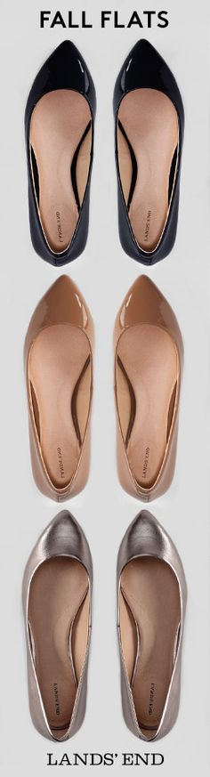 Fall-ing for flats in neutral hues. Wear them for work or weekend wanderlust. These shoes are so comfortable you'll want to wear them everywhere.