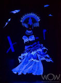 MEXI-KAHLO, Sally Blyth, Auckland. CentrePort Illumination Illusion Section. 2012 Brancott Estate WOW Awards Show