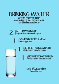 Drink More Water!!! Here's Why... #Health #Fitness #Trusper #Tip