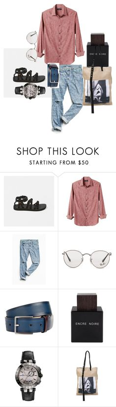 """Geekabite"" by niki-row ❤ liked on Polyvore featuring Abercrombie & Fitch, Banana Republic, Urban Outfitters, Ray-Ban, Paul Smith, Lalique, Versace, Raf Simons, men's fashion and menswear"