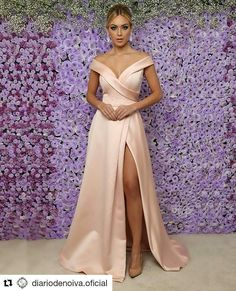 Sale Outstanding Short Party Dress 2018 Blush Pink Satin Prom Dresses With Split Off The Shoulder Long Prom Gowns For Party Pink Party Dresses, Party Gowns, Satin Dresses, Pink Dress, Nude Dress, Midi Dresses, Prom Party, Dresses Uk, Party Wear