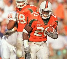 Ed Reed-Most Beloved Figures in Miami Hurricanes Football Team History click the image to learn more. Miami Football, Nfl Football Players, Football Is Life, Football And Basketball, School Football, Ed Reed, University Of Miami Hurricanes, Hurricanes Football, Football Pictures