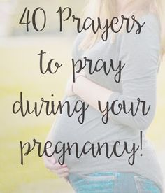 When Joe and I found out that God has blessed us with a tiny little life forming in me, we immediately started praying for that preci...
