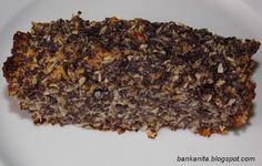 Mákos-almás-kókuszreszelékes paleo süti