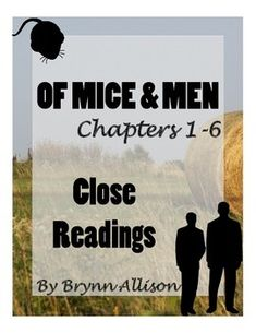 of mice and men final test questions Test prep home → sparknotes → literature study guides → of mice and men → study questions of mice and  he assumes he has to kill lennie in the story's.