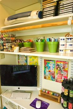 Moxie Fab World: Let's See Where You Craft! We're having a link party. Come show off your crafty space. Whether it is a room, closet or spot on the dining table, we'd love to see it!