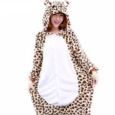 e7b22a5927 Animal Leopard Onesies Cosplay Costume Onesie Pajamas