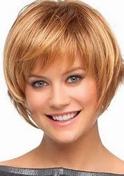Image result for Short Layered Hairstyles with Bangs
