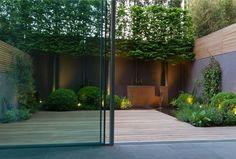 Whilst historic inside concept, the particular pergola continues to be encountering a bit of a Back Gardens, Small Gardens, Indoor Outdoor, Outdoor Living, Porches, Patio Interior, Contemporary Garden, Home And Deco, Garden Inspiration