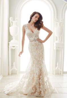 Sophia Tolli Spring 2017 Wedding Dress