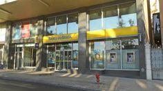 Balcão do banco do Brasil no centro de Lisboa (Marquês de Pombal)
