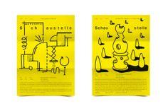 Bureau Mirko Borsche – Schaustelle Flyer