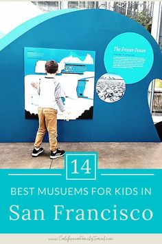 Looking for some great museums in San Francisco? Here are the 14 best San Francisco museums for kids and teens in the Bay Area. #sanfrancisco #california San Francisco With Kids, San Francisco Tours, San Francisco Museums, San Francisco Travel, California Attractions, California Vacation, Visit California, Travel With Kids, Family Travel