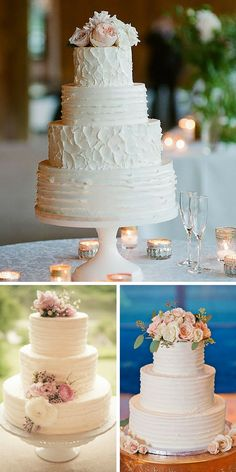 24 Beautiful Buttercream Wedding Cake Ideas ❤ Buttercream wedding cake is one of the most popular options for many couples. See more: http://www.weddingforward.com/buttercream-wedding-cakes/ #wedding #cake