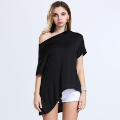 >> Click to Buy << T Shirt Women 2016 Summer New Style Cotton Batwing Sleeve Blusa Solid Tshirt Tops Fashion Casual Tee Shirt Femme Camisetas Mujer #Affiliate