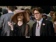Fiona and Charles, Wedding #1 (the incomparable Kristin Scott Thomas)