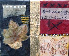 Escapist Encaustic Collage