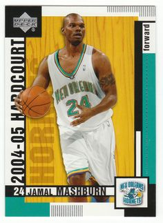 Jamal Mashburn # 57 - 2004-05 Upper Deck Hardcourt Basketball