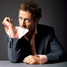 Hugh Laurie in Talks to Join Tomorrowland. Hugh Laurie may play the villain opposite George Clooney in Brad Bird's Tomorrowland. Gregory House, Beautiful Men, Beautiful People, Amazing People, Dr H, House Md, Hugh Laurie, Marvel, Famous Faces