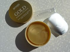 Petitfee GOLD Płatki pod oczy ze złotem inci ingredients
