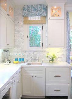 more white kitchens