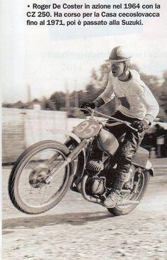 Roger De Coster CZ 250 - 1964