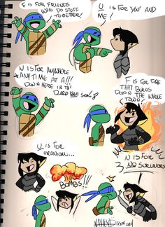 F.U.N SONG by Nayhed.deviantart.com on @deviantART haha this is cute