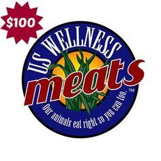 US Wellness Meats Gift Certificate (HMN Auction - eBay - 10/30/16 - 11/6/16)