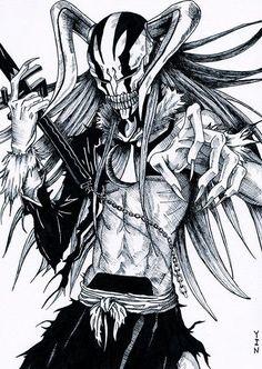 Ichigo hollow - bleach anime dibujos, dibujos de anime и cómics anime. Bleach Manga, Bleach Drawing, Bleach Fanart, Bleach Movie, Bleach Anime Art, Manga Anime, Manga Art, Manga Drawing, Shinigami