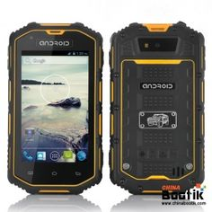 Rugged Android Dual Core Phone - Waterproof, Shockproof, Dust Proof (Yellow) #smartphone #ruggedphone