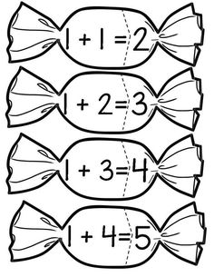 This Pin was discovered by ÖĞR Kindergarten Math Activities, Kids Math Worksheets, Teaching Math, Learning Activities, Preschool Activities, Numbers Preschool, Math Numbers, Math For Kids, Fun Math