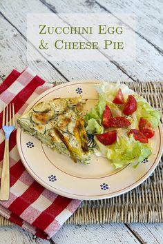 Italian Food Forever » Zucchini Ricotta & Egg Pie