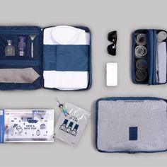 6530f5a76383 Business Travel Pouch Set Путешествие Воздушным Транспортом, Шить Бумажник,  Организация Поездки, Туристический Рюкзак