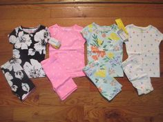 Awesome 8 piece LOT of Baby Girl Spring/Summer pajamas size 18 months NWT 2017-2018 Check more at http://24myshop.tk/product/8-piece-lot-of-baby-girl-springsummer-pajamas-size-18-months-nwt-2017-2018/