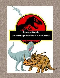 Dinosaurs were animals that lived 100 million years ago. This bundle gives you a fresh look at this group of animals. Did you know that the arms of Tyrannosaurus Rex were too short to reach his mouth and that its young may have been born with feathers? As the fossil record grows and scientists are able to learn even more, our knowledge grows.  Your students will read for information and use study and research skills as they complete each quest. The subject is highly motivational for students