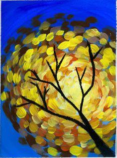 that artist woman: Fall Swirls
