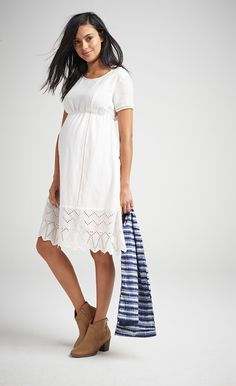 cae8518f3e2 If you think our white eyelet midi dress is pretty now