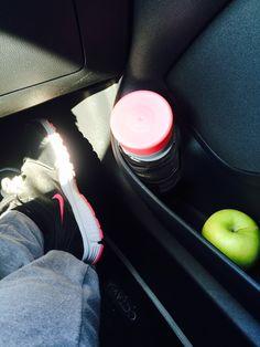 Morning workout.