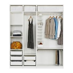 Fitted Wardrobe Inside Woman   Google Search · Closet StorageIkea Pax ...