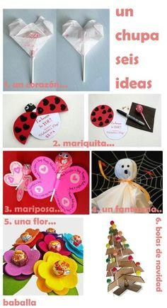 Ideas para regalar chupa-chups Goodie Bags, Best Part Of Me, Ideas Para, Xmas Ideas, Fun Ideas, Party Ideas, Craft Ideas, Valentines Day, Presents