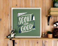 Scout For Good Canvas